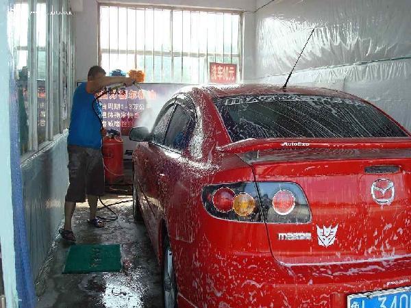 小蜜蜂洗车
