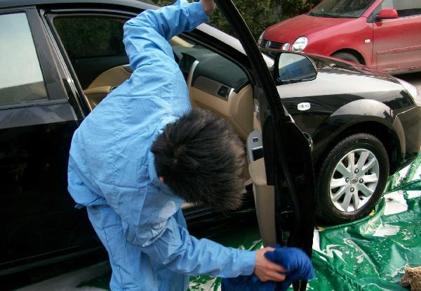 威洁士洗车
