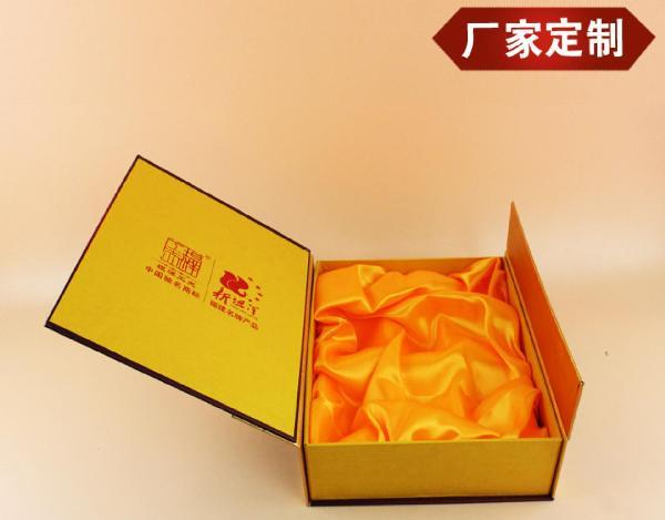 会翔方型竹盒双层礼品装卤河蟹