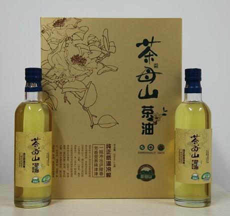 菊盛野生茶油