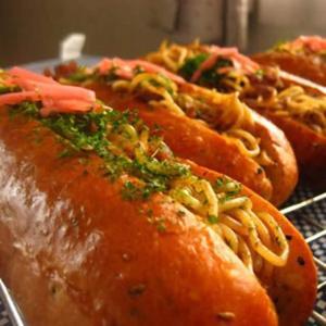 樱木町炒面面包